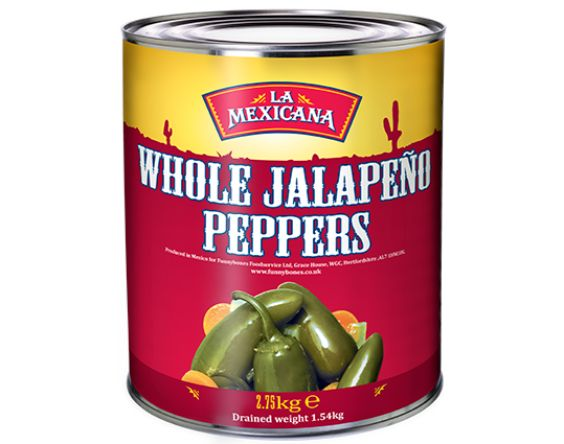 Whole Green Jalapenos